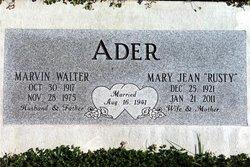 Marvin Walter Ader