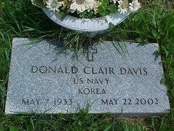 Donald Clair Davis