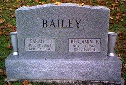 Sarah Ellen <i>Faris</i> Bailey