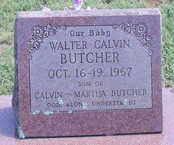 Walter Calvin Butcher