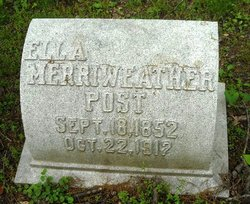 Ella Letitia <i>Merriweather</i> Post