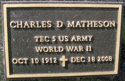 Charles Daniel Matheson