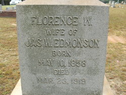 Florence W. <i>Hayes</i> Edmonson
