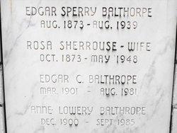 Rosa Arminda <i>Sherrouse</i> Balthrope