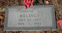 Johnie James Billings