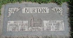 Arlene <i>Parker</i> Burton