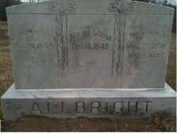 Rachel Louisa <i>Bitner</i> Allbright