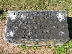 Eliza <i>Allen</i> Douglas