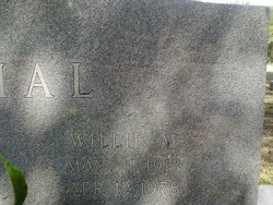 Willie Irene <i>McCravy</i> Dial