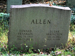 Susan <i>Arrington</i> Allen