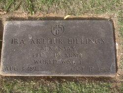 Ira Arthur Bill Billings