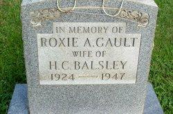 Roxie Ann <i>Gault</i> Balsley