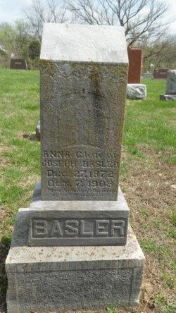 Anna C <i>Howenstein</i> Basler