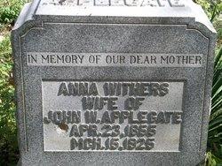 Anna <i>Withers</i> Applegate