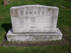 Julia Elizabeth <i>Holmes</i> Bohnert