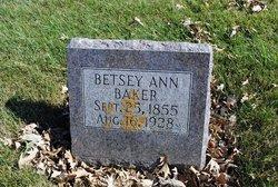 Betsey Ann <i>Berry</i> Baker