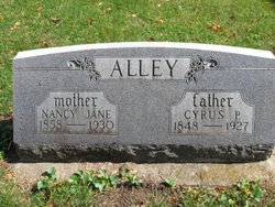 Nancy Jane Jennie <i>Cook</i> Alley