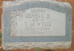 Geneva Bell <i>Gideon</i> Wylie