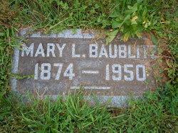 Mary Louise <i>Sterner</i> Baublitz