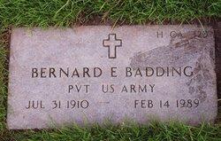 Pvt Bernard Francis Badding