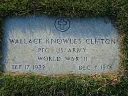 PFC Wallace Knowles Clifton