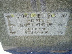Mary E <i>Winslow</i> Billings