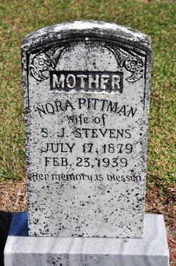 Nora <i>Pittman</i> Stevens
