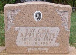 Kay Oma <i>Pate</i> Applegate