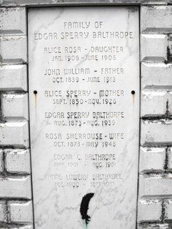 Anise M. Anne <i>Lowery</i> Balthrope