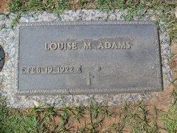 Louise M <i>Drueckhammer</i> Adams