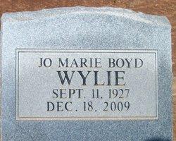 Jo Marie <i>Boyd</i> Wylie