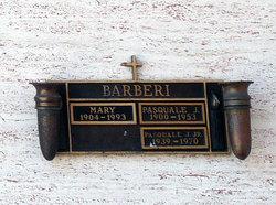 Pasquale J Barberi, Jr