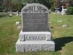 Mary H. <i>Leonard</i> Alden
