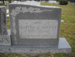 Mrs Martha C <i>Moxley</i> Adams