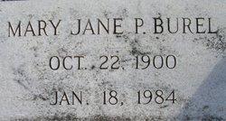 Mary Jane <i>P.</i> Burel