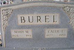 Calledonia Elizabeth <i>Davis</i> Burel