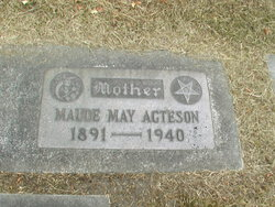 Maude May <i>Brown</i> Acteson