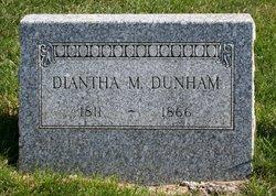 Diantha M <i>Alden</i> Dunham