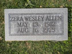 Zera <i>Wesley</i> Allen