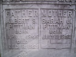 Sarah Jane <i>Pope</i> Pittman