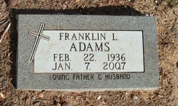 Franklin LeRoy Adams