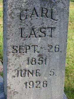 Charles Carl Last