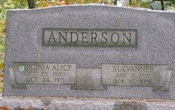 Sulvanner V. Anderson