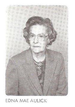 Edna Mae <i>Coleman</i> Aulick