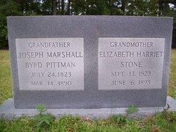 Elizabeth Harriett <i>Stone</i> Pittman