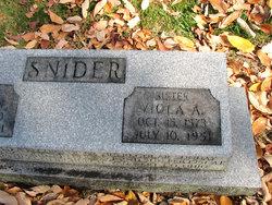 Viola A Snider