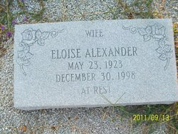 Eloise <i>Sapp</i> Alexander