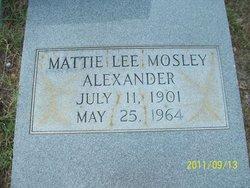 Mattie Lee <i>Mosley</i> Alexander