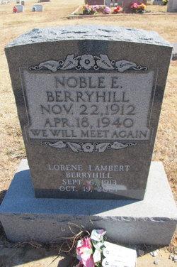 Noble E. Berryhill