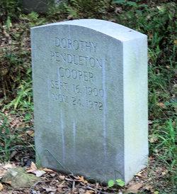 Dorothy <i>Pendleton</i> Cooper